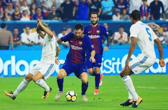Barcelona derrota al Real Madrid en Clásico disputado en Miami