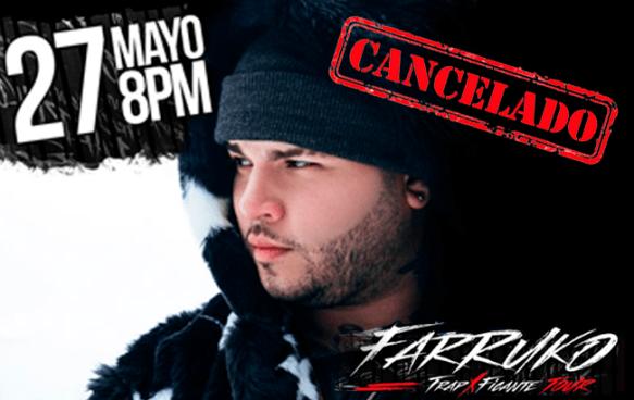 Cancelan Concierto de Farruko en El Salvador