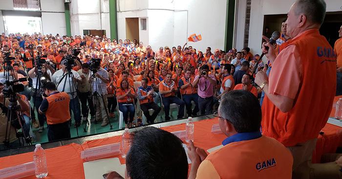 GANA amplía plazo para inscribir a aspirantes a candidato presidencial