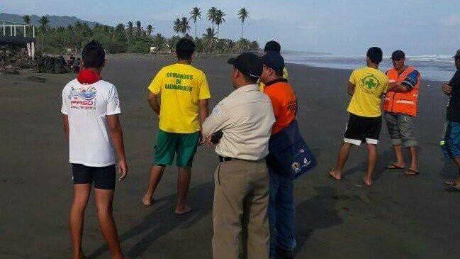 Cuerpo de joven ahogado desapareció en Playa El Espino