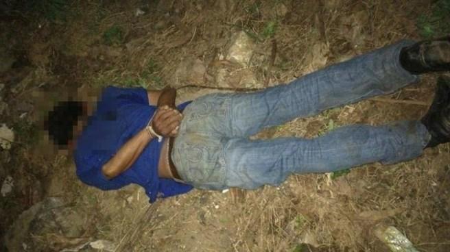 Encuentran cadáver de hombre atado de manos en la carretera al Puerto de la Libertad