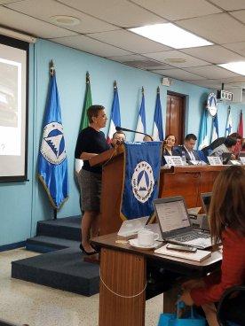 Pignato solicitó al PARLACEN recomendar al Congreso Salvadoreño que desbloqueé préstamo para Ciudad Mujer