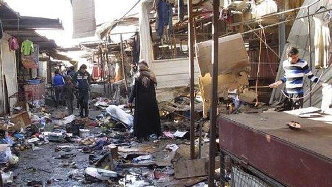 Se registran 30 muertos en atentado a un mercado de Irak
