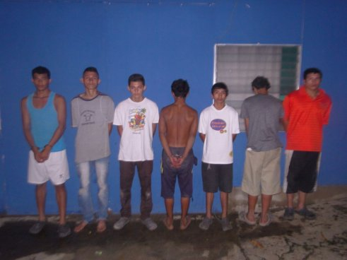 Capturan a siete sujetos involucrados en un homicidio