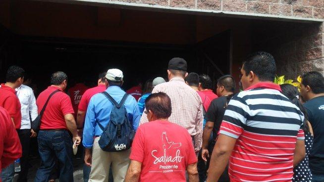 FMLN presenta a candidatos a alcaldes y diputados por San Salvador