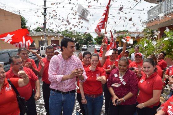 Miguel Pereira gana elecciones internas y se ratifica como candidato a la alcaldía de San Miguel