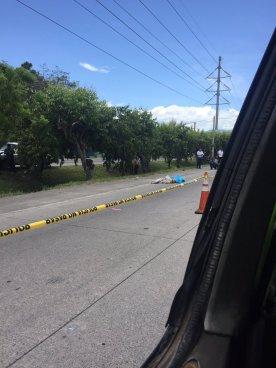 Anciano muere arrollado en la Carretera de Oro en San Martín