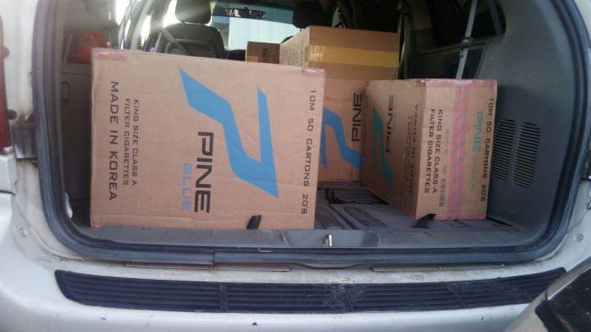 Un agente de la PNC entre los capturados por contrabando de mercadería en Santa Ana