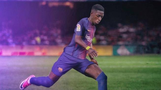 Dembélé es nuevo jugador del Barcelona en reemplazo de Neymar