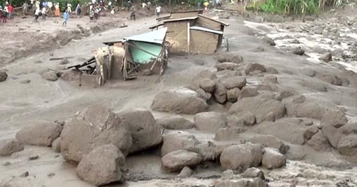 Deslaves dejan al menos 34 personas fallecidas en Uganda