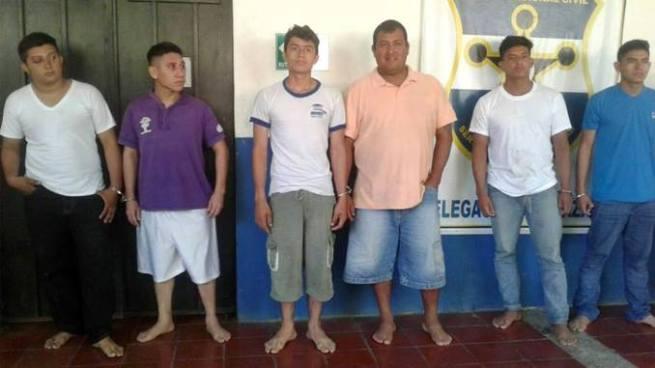 PNC captura a varios sujetos por diversos delitos en el departamento de Morazán