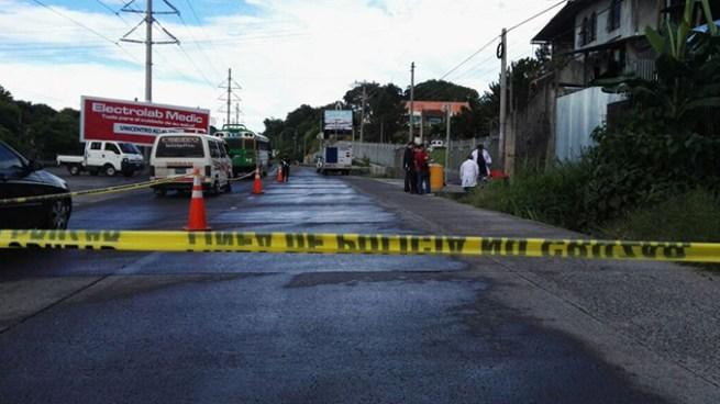 Asesinan a dos pandilleros en comunidad Nueva Esperanza de Soyapango