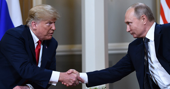 Donald Trump y Vladimir Putin celebran primer cumbre bilateral en Finlandia