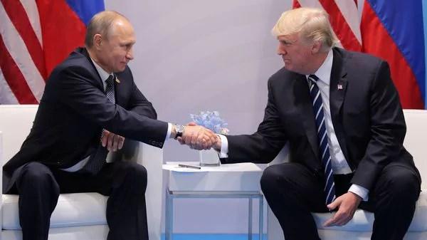 Putín y Trump confian en mejorarar las relaciones entre ambas naciones