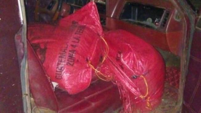 Capturan a mujer que transportaba dos sacos de marihuana en la frontera Las Chinamas