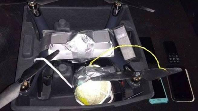 Incautan en México un dron con un artefacto explosivo