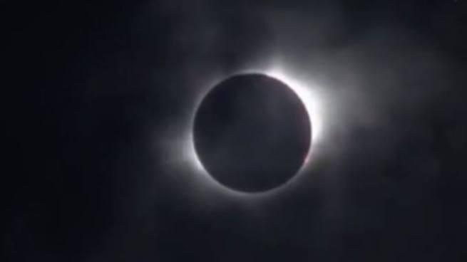 Así se vio el eclipse solar desde Oregon, Estados Unidos