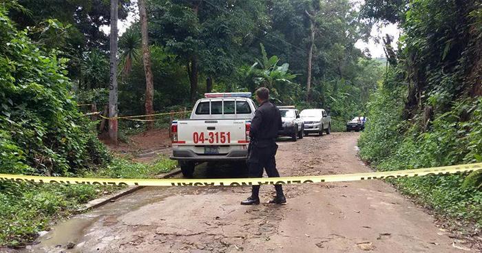 """Pandillero alias """"Misterio"""" muere tras intercambio de disparos con agentes de la PNC La Libertad"""