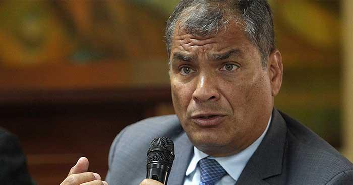 Corte Nacional de Ecuador ordena la captura del expresidente Rafael Correa