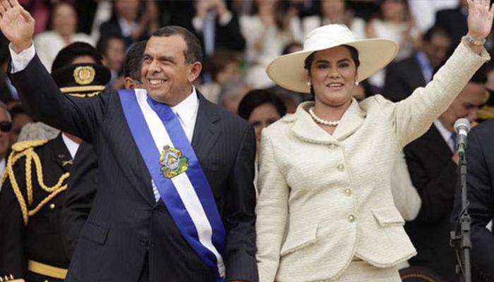 Capturan ex primera dama de Honduras por corrupción