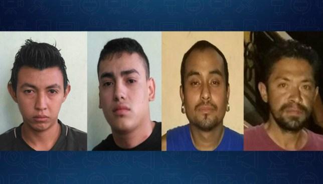 PNC de Ciudad Delgado detiene a sujetos acusados por el delito de extorsión