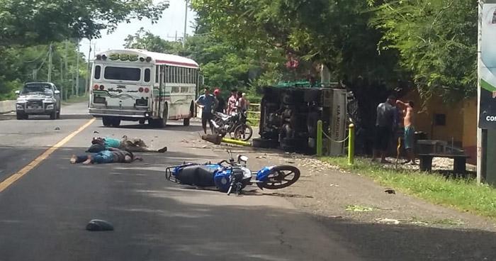 Motociclista fallecido tras accidente en carretera Litoral, en el oriente del país