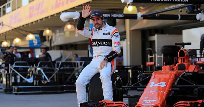 El español Fernando Alonso anuncia su retiro de la Fórmula 1