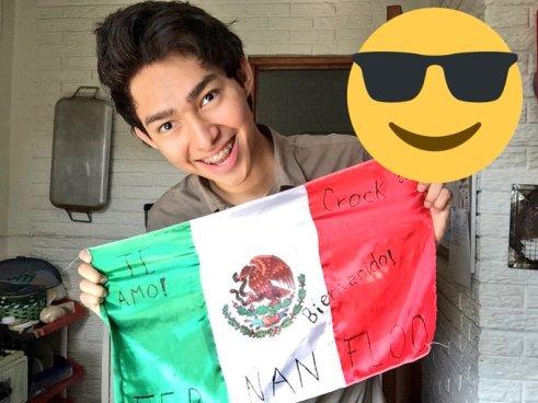 Fernanfloo tuvo que ser escoltado llegando al aeropuerto de México