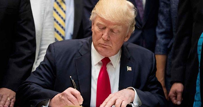 Presidente Trump firmará decretó para poner fin a la separación de familias migrantes