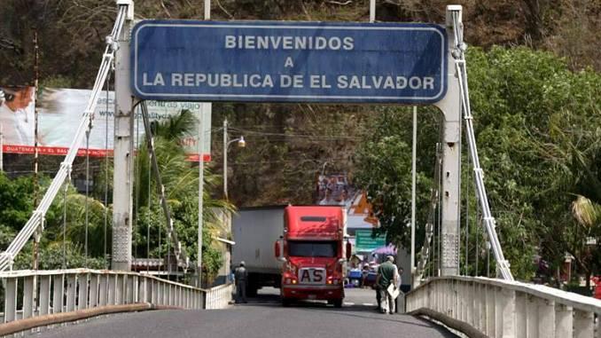 Frontera-El Salvador-Guatemala