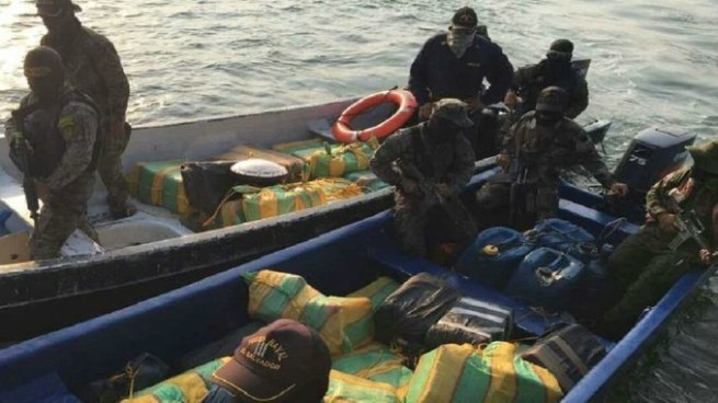 FAES destaca el decomiso de cocaína en alta mar valorado en $225 millones