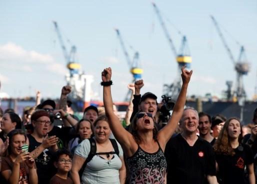 """""""Bienvenidos al infierno"""" titulo de la manifestación contra la cumbre del G-20"""