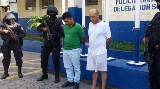 Arrestan a dos gatilleros de pandillas en Ilopango, San Salvador