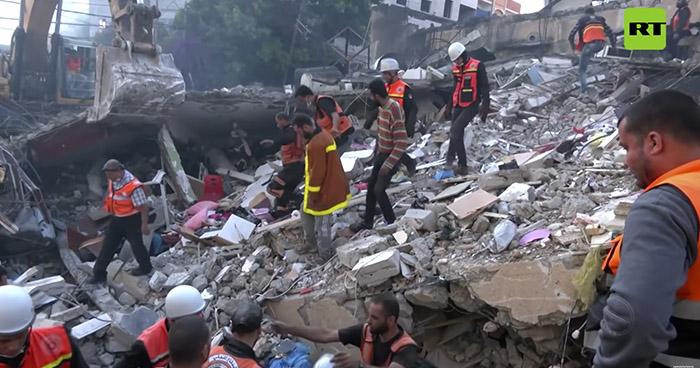 Más de 20 muertos tras ataque aéreo en zona residencial en Gaza