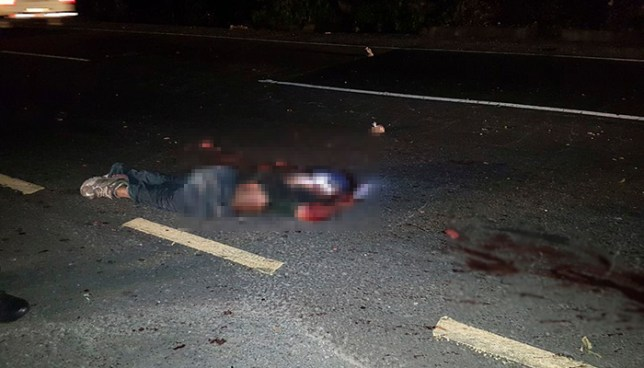 Hombre muere atropellado en una carretera de Cojutepeque