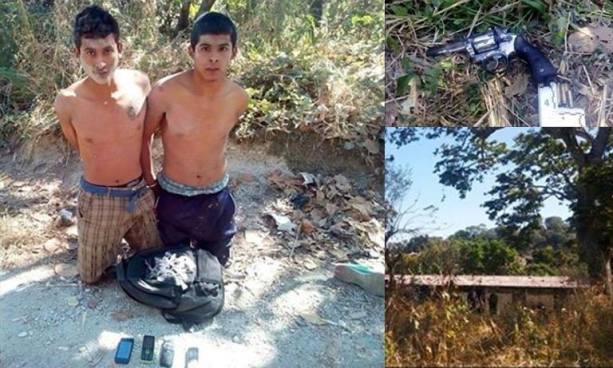 Caen en enfrentamiento presuntos autores del homicidio de un policía y su familia en Coatepeque