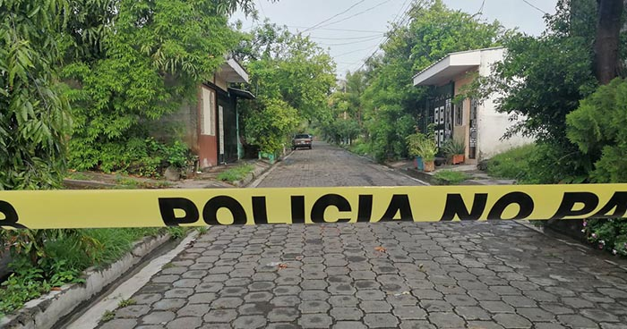 Encapuchados asesinan a pandillero retirado en la colonia Bella Vista de San Miguel