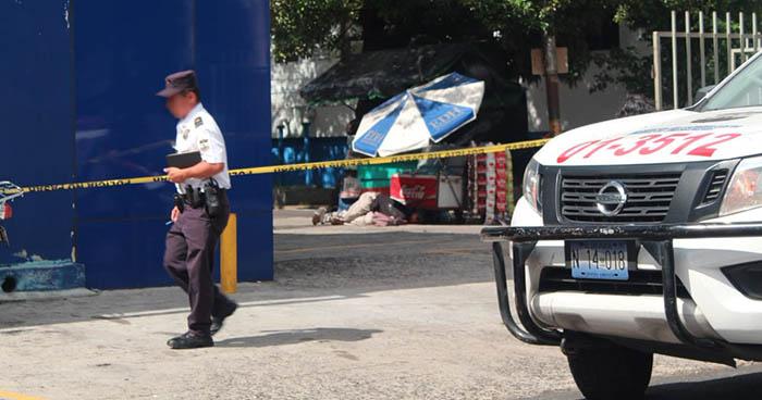 Tiroteo en el centro de San Salvador deja al menos una persona fallecida