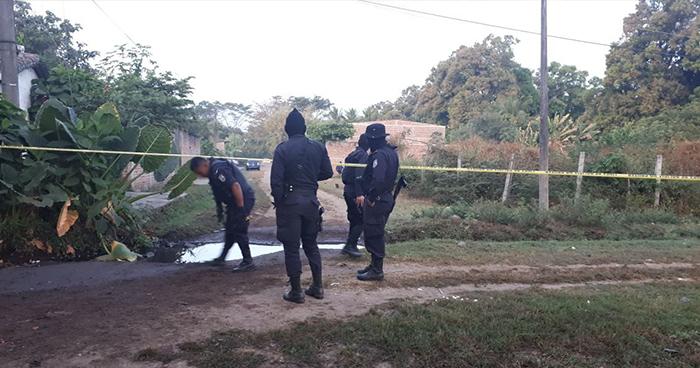 Criminales asesinan a motociclista en Ciudad Arce, La Libertad