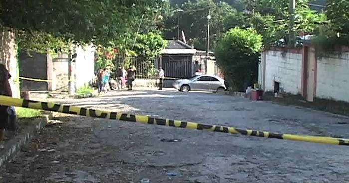 Asesinan a un hombre cerca de la carretera Troncal del Norte, en Ciudad Delgado