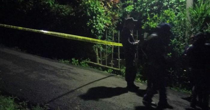 Hombre es asesinado a balazos en San Bartolomé Perulapía, Cuscatlán