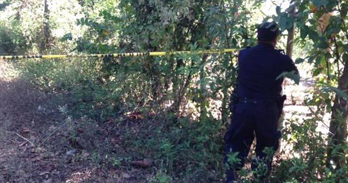 Hallan el cadáver de un hombre que fue brutalmente asesinado en Candelaria, Cuscatlán