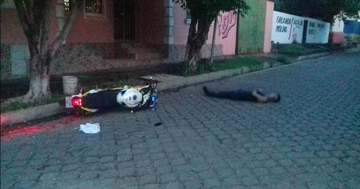 Asesinan a exmilitar en el barrio El Calvario de San Alejo, La Unión