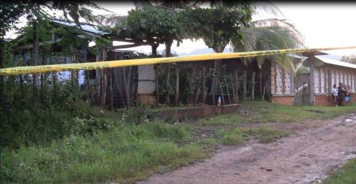 Hombre de 60 años fue asesinado a balazos en el cantón La Hachadura