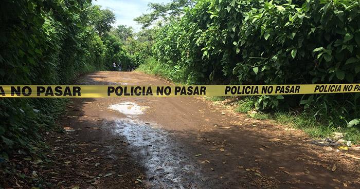 Asesinan a mujer en zona rural del municipio de Nahuizalco, Sonsonate
