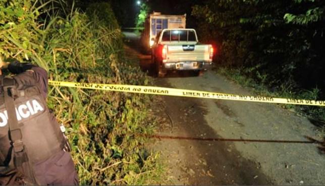 Mujer es asesinada a balazos en el cantón San Isidro de Panchimalco