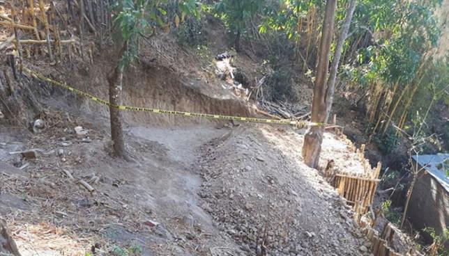 Hallan el cadáver de un hombre que fue asesinado sobre la carretera a Los Planes de Renderos