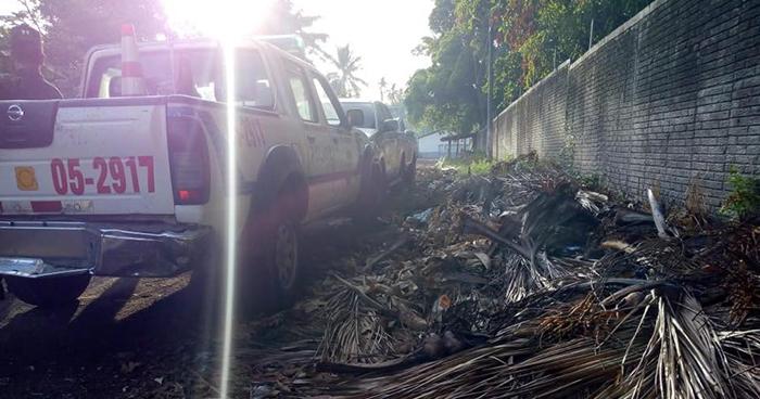 Ubican el cadáver de mujer que fue asesinada a machetazos en Puerto El Triunfo, Usulután