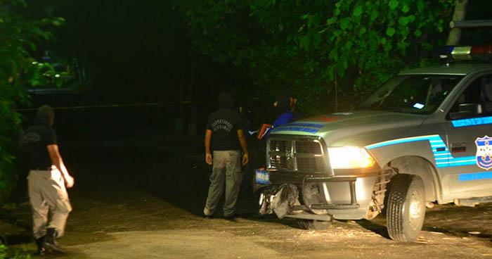 Dos jóvenes fueron asesinados anoche en el municipio de San Miguel