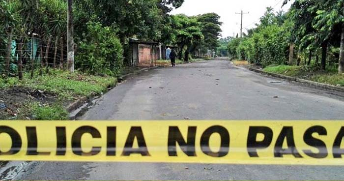 Hombre es asesinado a balazos en uno de los barrios de San Pedro Puxtla, Ahuachapán